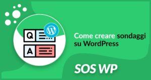 Come creare sondaggi su WordPress