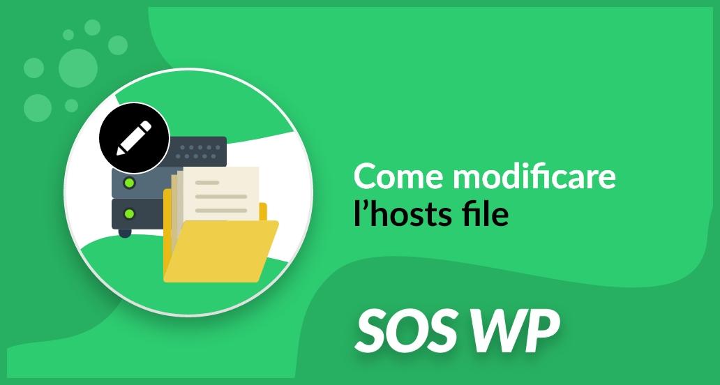 Come modificare l'hosts file per accedere ad un sito prima della propagazione di un dominio
