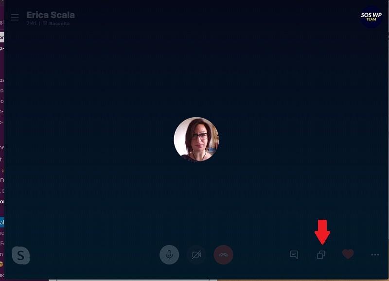 Condividere schermo con Skype su Mac