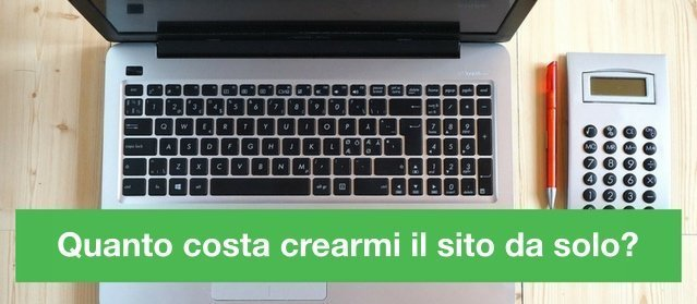 Quanto costa creare un sito web o un blog in wordpress for Quanto costa abbaiare un mantello