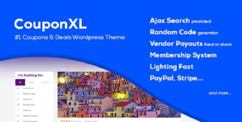 Tema WordPress Coupon XL