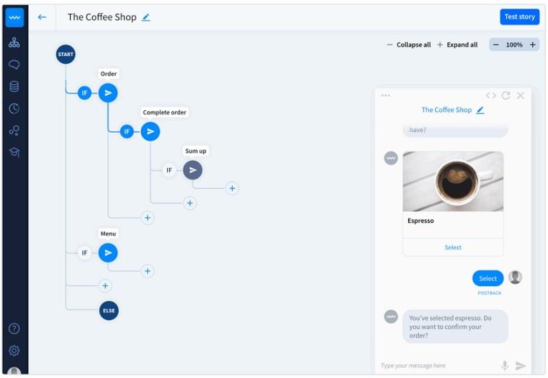 Creazione chatbot per chat automatizzate su siti web