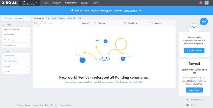 Commenti su WordPress - Moderazione