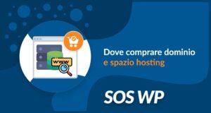 Dove comprare dominio e spazio hosting