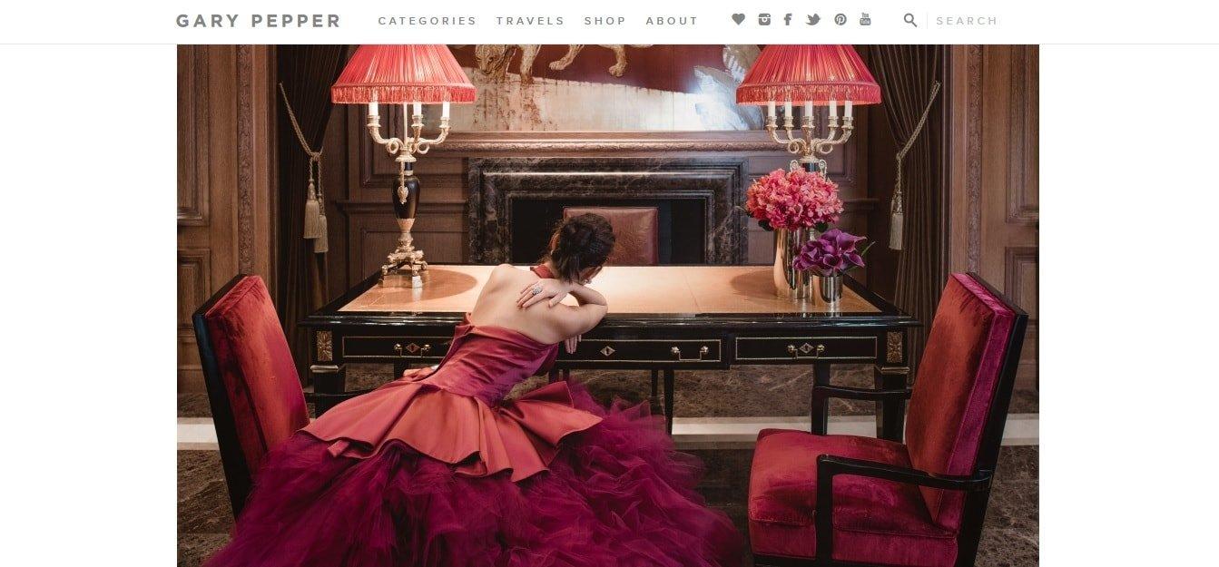 fotografia nel blog Gary Pepper Girl - fashion blog più popolari della rete
