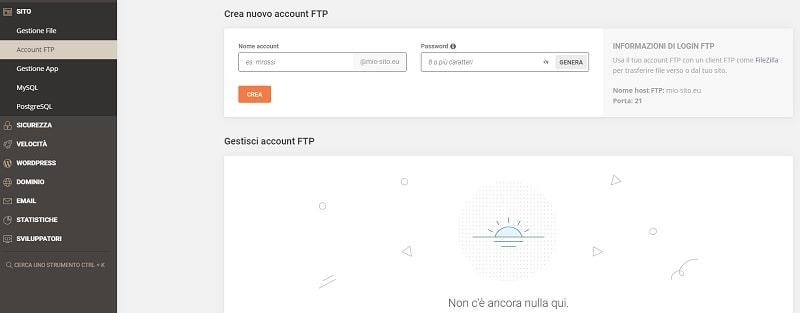 Account FTP Site Tools