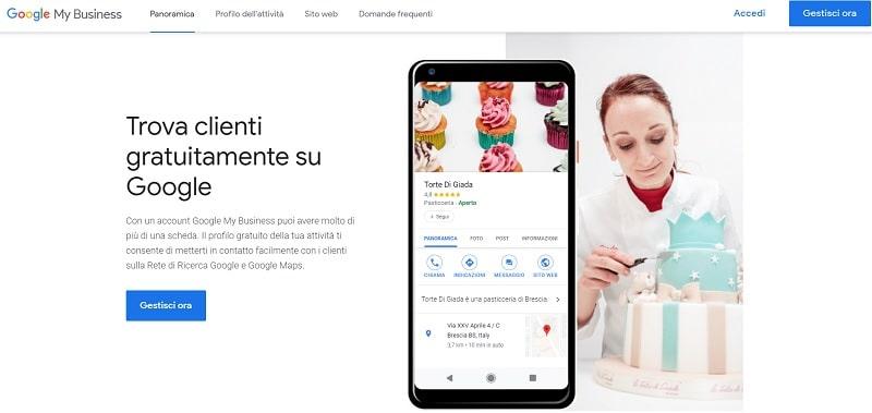 Google My Business - strumenti di Google per promuovere attività locali