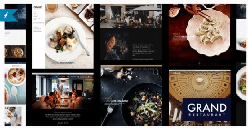 Grand Restaurant tema per ristoranti
