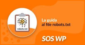 guida al file robots txt