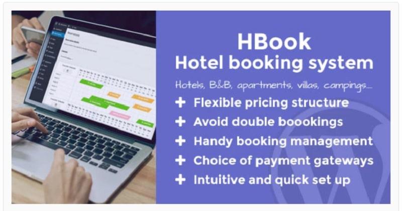 HBook - plugin per gestione prenotazioni di un hotel