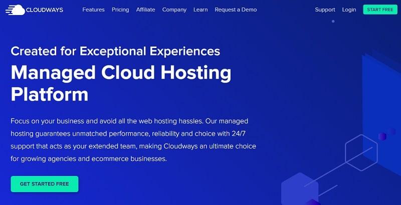 Hosting Cloudways