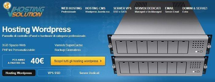 Acquisto hosting e dominio su VHosting