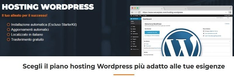 Hosting italiano WordPress Serverplan