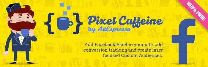 integrare il pixel di Facebook su WordPress con Pixel Caffeine