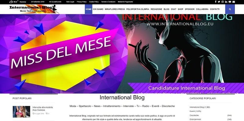International Blog di Giulio Strocchi