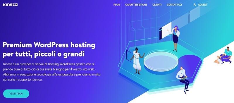 Kinsta tra i migliori hosting WordPress