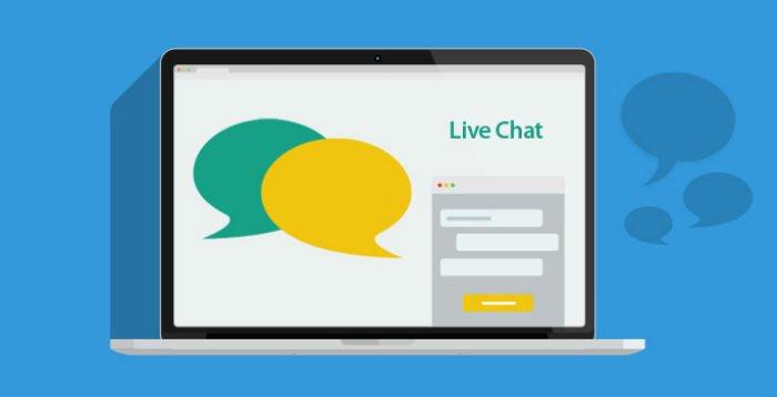 Live chat per entrare in contatto con gli utenti
