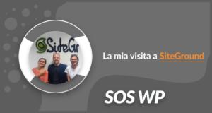 La mia visita a SiteGround
