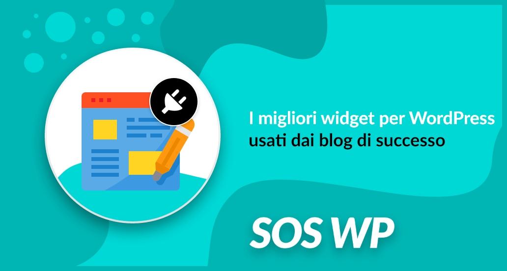 I migliori widget per WordPress