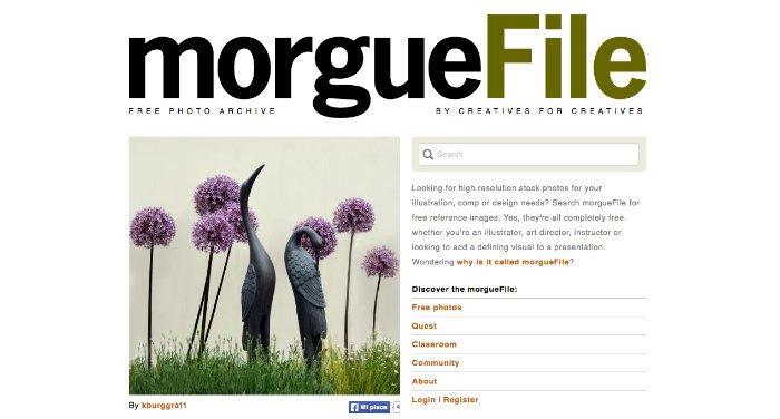 Usare Pinterest per aumentare il traffico con MorgueFile