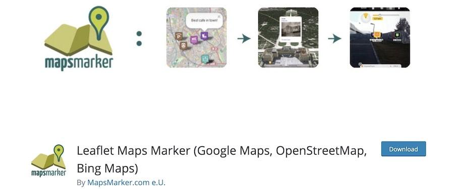 ntegrare mappe Google su WordPress - Leaflet Maps Maker