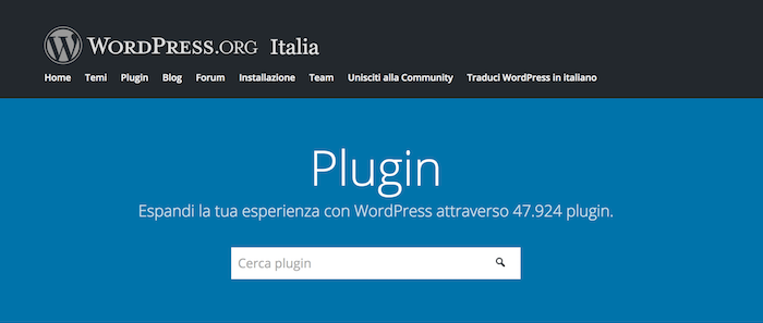 nuova-plugin-directory-wordpress