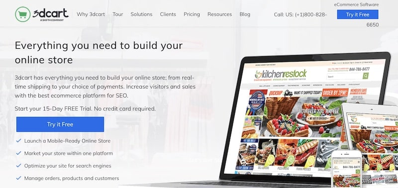 piattaforme ecommerce-3dcart