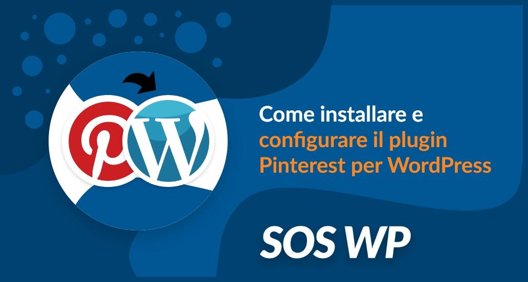 Installare e configurare plugin Pinterest