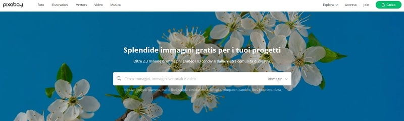 Pixabay scarica immagini gratis
