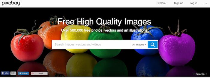 Come scaricare immagini gratis su Pixabay