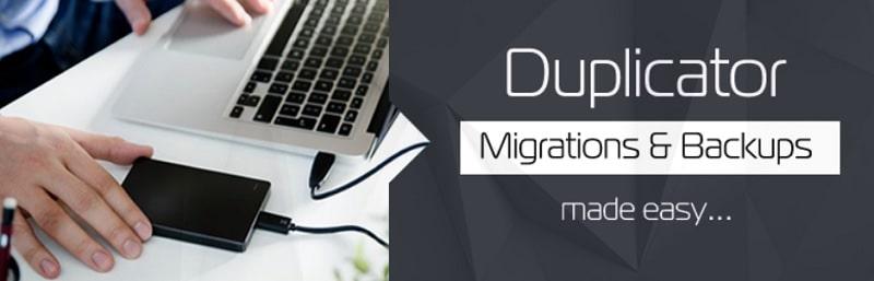 Duplicator- plugin per fare backup del sito WordPress