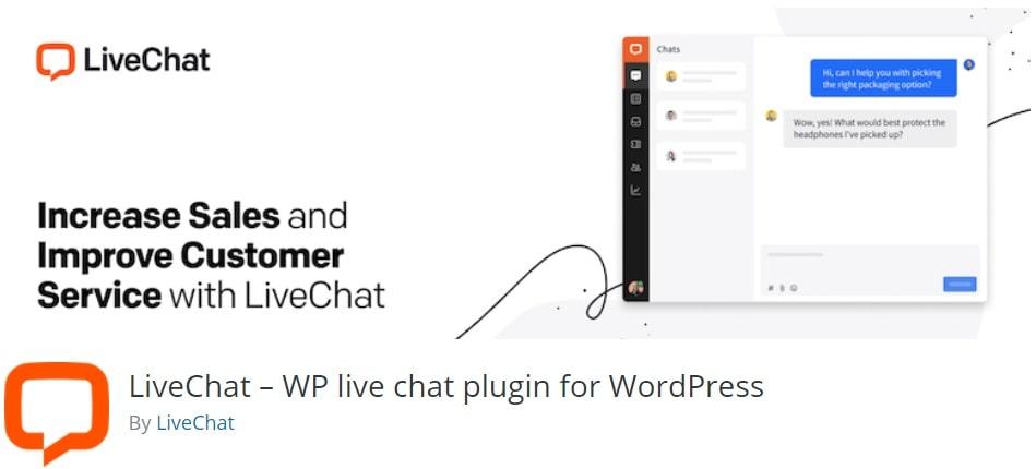 Il plugin WordPress LiveChat per inserire la chat nei siti web