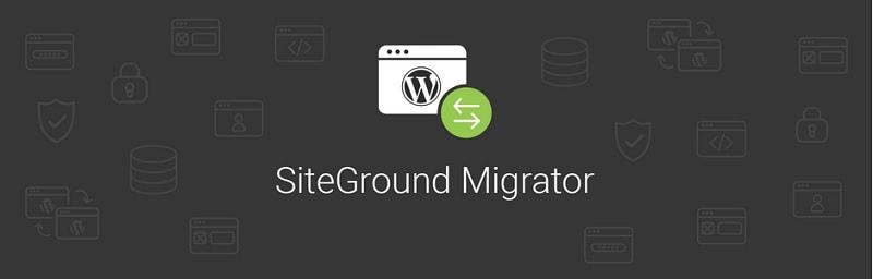 Plugin SiteGround Migrator per trasferire il tuo sito su Siteground