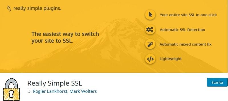 risolvere problemi SSL con Really Simple SSL