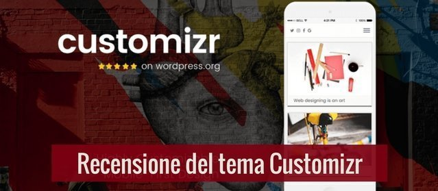 Recensione del tema Customizr per WordPress