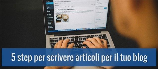 Come scrivere un articolo per un blog