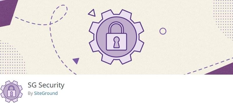 SiteGround Security plugin