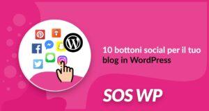 Bottoni social per blog