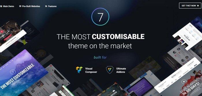 Tema The7 per WordPress - recensione