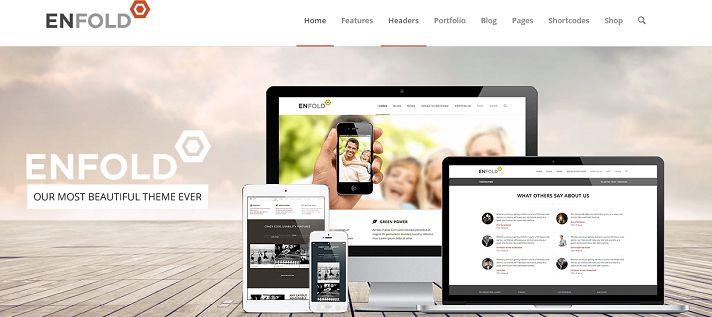 Scelta del tema WordPress: Enfold