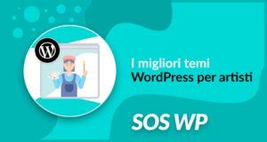 I migliori temi WordPress per artisti