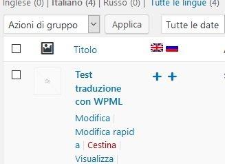 Traduzione articoli sito multilingua su WordPress
