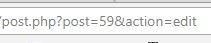 Trovare l'id di una pagina - URL
