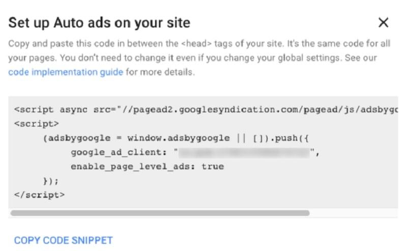 Come collegare AdSense al tuo sito WordPress