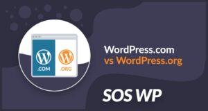Tutte le differenze tra wordpress.com e wordpress.org