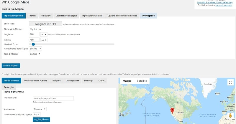 WP Google Maps plugin