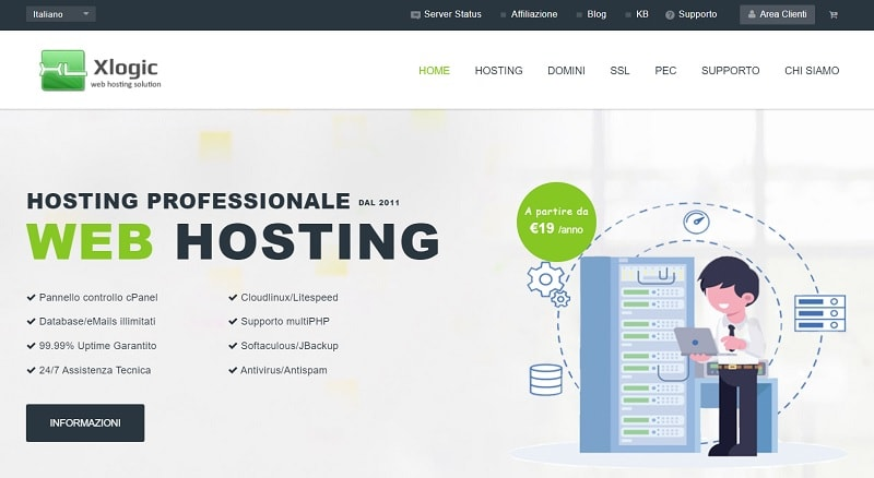 Hosting WordPress Xlogic